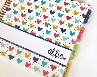 Personalized Baby Gift * Girl Baby Book * Baby Album  * Baby Girl Book * Babys First Year * Baby Journal * Baby Girl Baby Book *ELLIE