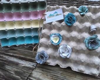 Egg Carton Flat Tray
