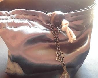 Shining Paladin XL Vintage Fabric Dice Bag