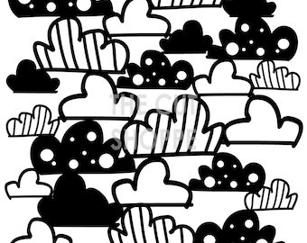 A Walk in the Clouds is a 12x12 background cut file, that can be used on your scrapbooking and papercrafting projects.