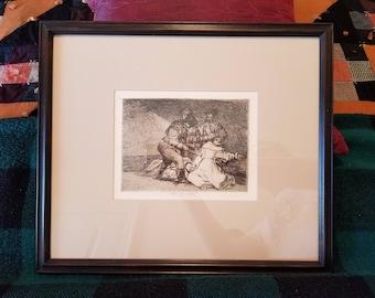 Francisco de Goya (Spanish, 1746-1828),Estó es Malo