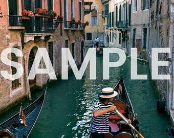 Venice Canal Photo Download