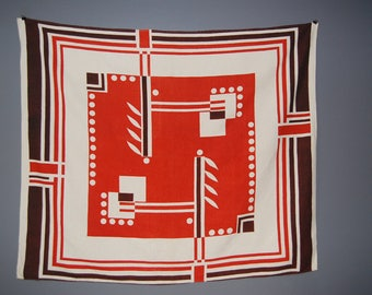 Machine Age Art Deco Hotel New Yorker Tablecloth