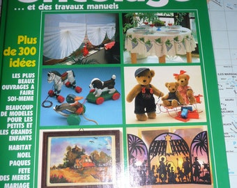 book : Burda, the great album of DIY and handicrafts - 1989 - in good conditions
