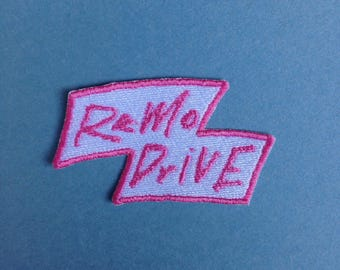 Remo Drive Iron-on Patch