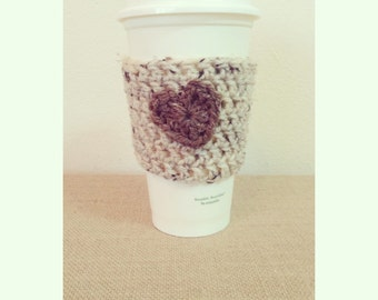 Oatmeal & Barley Heart Cozy