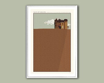Movie poster Days of Heaven print in various sizes