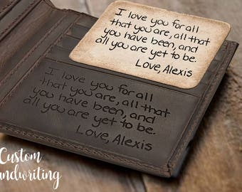 Personalized leather Wallet Fathers day gift Personalized wallet personalized wallet for men, personalized mens wallet, mens leather wallet,