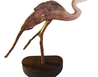 Blue Heron Dance 2018 Rick Cain Original Great Blue Heron Sculpture
