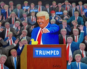 Trumped - Painting