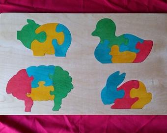Puzzle animaux de ferme