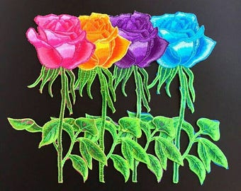 BEAUTIFUL EMBROIDERY FLOWERS