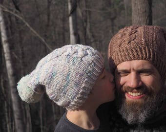 Hat Knitting Pattern *Hearth and Snow*
