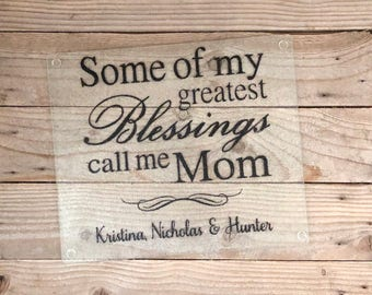 glass cutting board new grandma mom gifts gifts mothers day grandmother