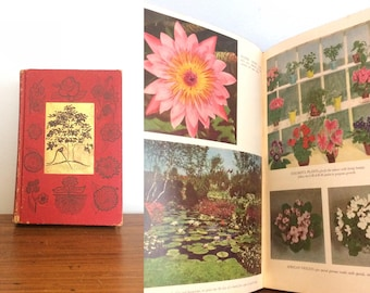 Vintage 60s Gardening Book / Miracle Gardening by Sam Sinclair Baker / Shabby Chic Book
