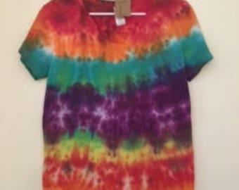 Ladies L Tie Dye T-Shirt