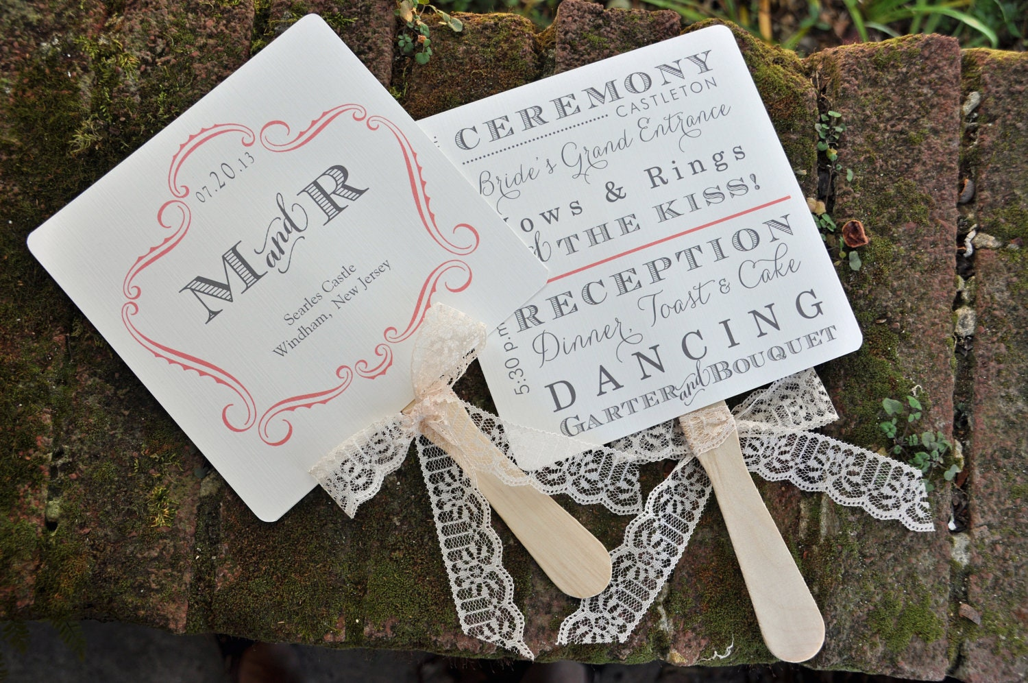 100 Vintage Wedding Favor Fans Or Fan Programs