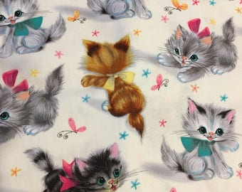 Kids weighted blanket/Kitten Weighted blanket/Calms/custom blanket/Autism/Aspergers/ADHD/Anxiety/child's weighted blanket