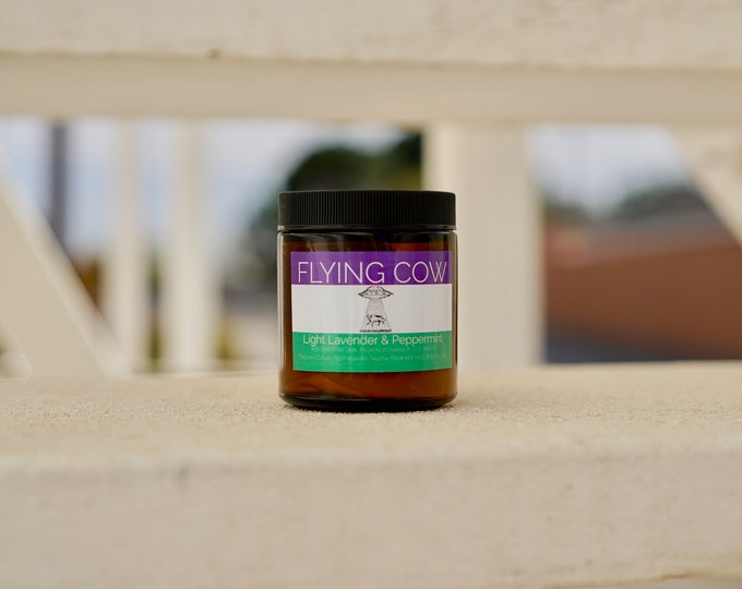Light Lavender Peppermint Whipped Tallow