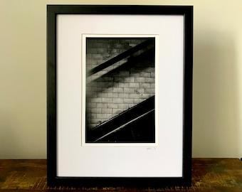 TUBE STEPS - Darkroom Print