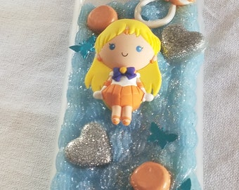 ON SALE Sailor Venus iPhone 6 Plus/6s Plus/7 Plus Decoden Case