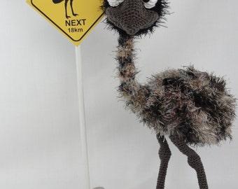 Amigurumi Crochet Pattern - Emma the Emu - English Version