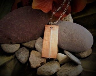 Copper Necklace - Hammered Copper