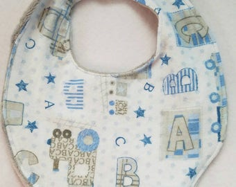 Abc infant bib