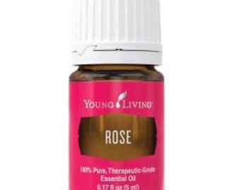 Young Living Essential Oil Rose 5ml New Sealed Pure Rose for Crafting, Soaps, Bath Salts, Aromatherapy