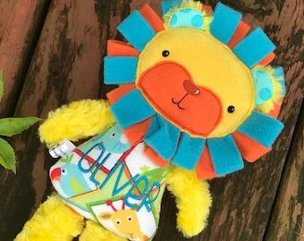 Plush Lion - Lion Stuffed Animal for Boys - Stuffed Lion - Girl Lion - Dress Up Lion - Gifts for Kids - Lion Doll - Personalized Lion