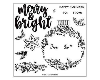 Concord and 9th - Christmas - Clear Acrylic Stamps - Ornamental