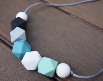 Winter Wonderland Silicone Bead Necklace