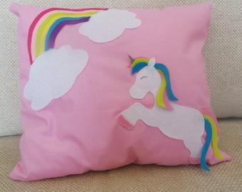 New!!! Pink unicorn cushion!
