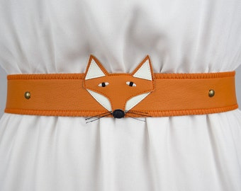 Fox Belt ~ Handmade ~ Only 1 Left!