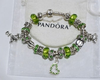 You have to kiss a bunch of frogs to find your prince - Authentic Jared Pandora bracelet