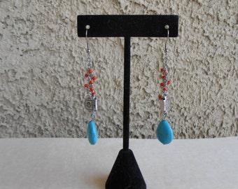 Southwest Howlite Earrings