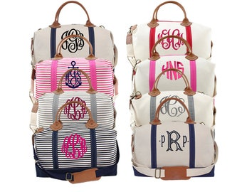 Weekender Bag, Monogram Weekender, Monogrammed Weekender, Navy Weekender, Gray Weekender, Pink Weekender, Black Weekender, Weekender Bags
