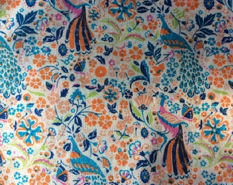 Tana lawn fabric from Liberty if London, Juno's Garden.