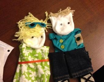 Custom Sock Puppets