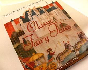 Classic Fairy Tales Illustrated Book - Hans Christian Andersen, Charles Perrault, Michael Fiodorov, Sleeping Beauty, Cinderella, pirates