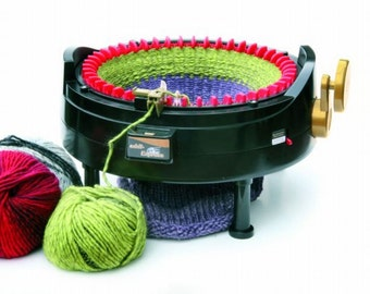 Addi knitting machine express Kingsize with 46 needles 890-2 + Accessory selection