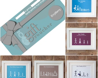 Voucher for a Personalised Family Portrait