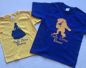 Toddler Beuty and the Beast T-Shirts