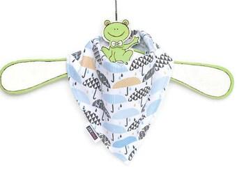 Baby bandana bib, Umbrella drool bib, Baby boy bandanas, Baby shower gift idea, Umbrella dribble bib, Rainy day bibdana, Baby boy gifts