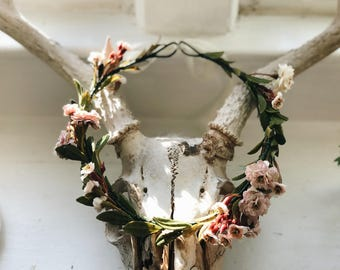 Dainty Rose Spring Crown