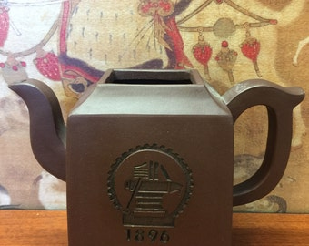 50% Sale-Chinese Yixing Purple Clay Teapot