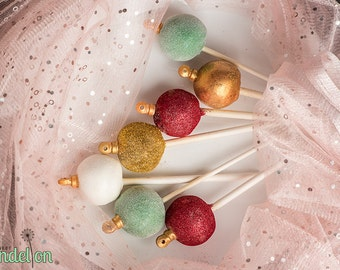 Christmas Ornament Cake Pops