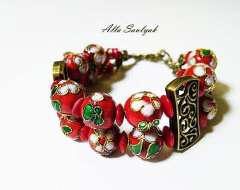 Handmade bracelet 20 cm for woman or girl.