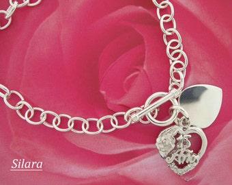 Quinceanera Bracelet 15 Anos Charm Jewelry
