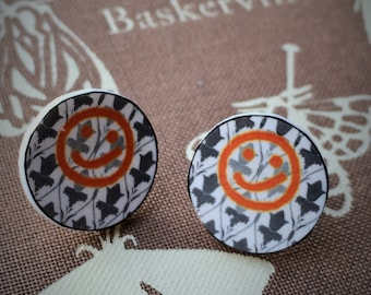 Sale! Sherlock Wallpaper Earrings
